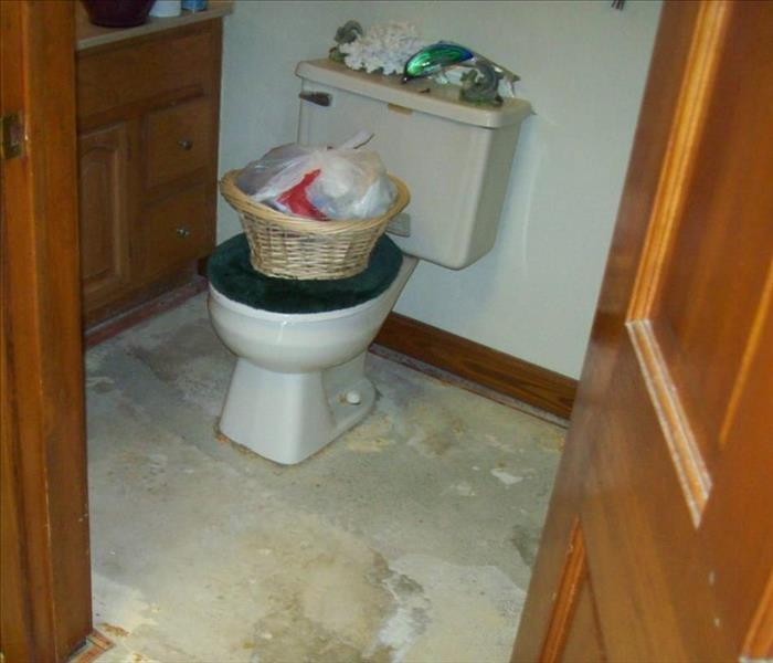 Leaking Toilet  After